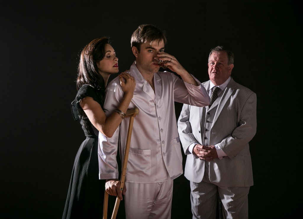 Pictured: Christina DeCicco, Patrick Ball, John O'Creagh. Photo by VanderVeen Photographers.