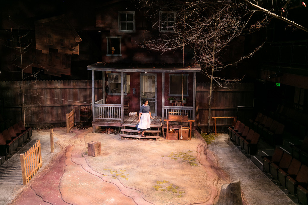 Natalie Taylor Hart's design for FENCES.